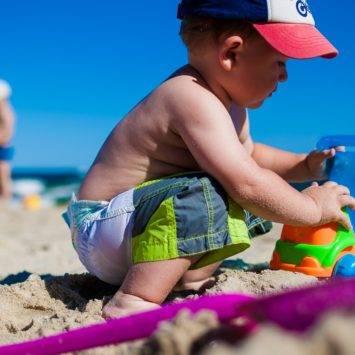 Sun safety tips for children's skin