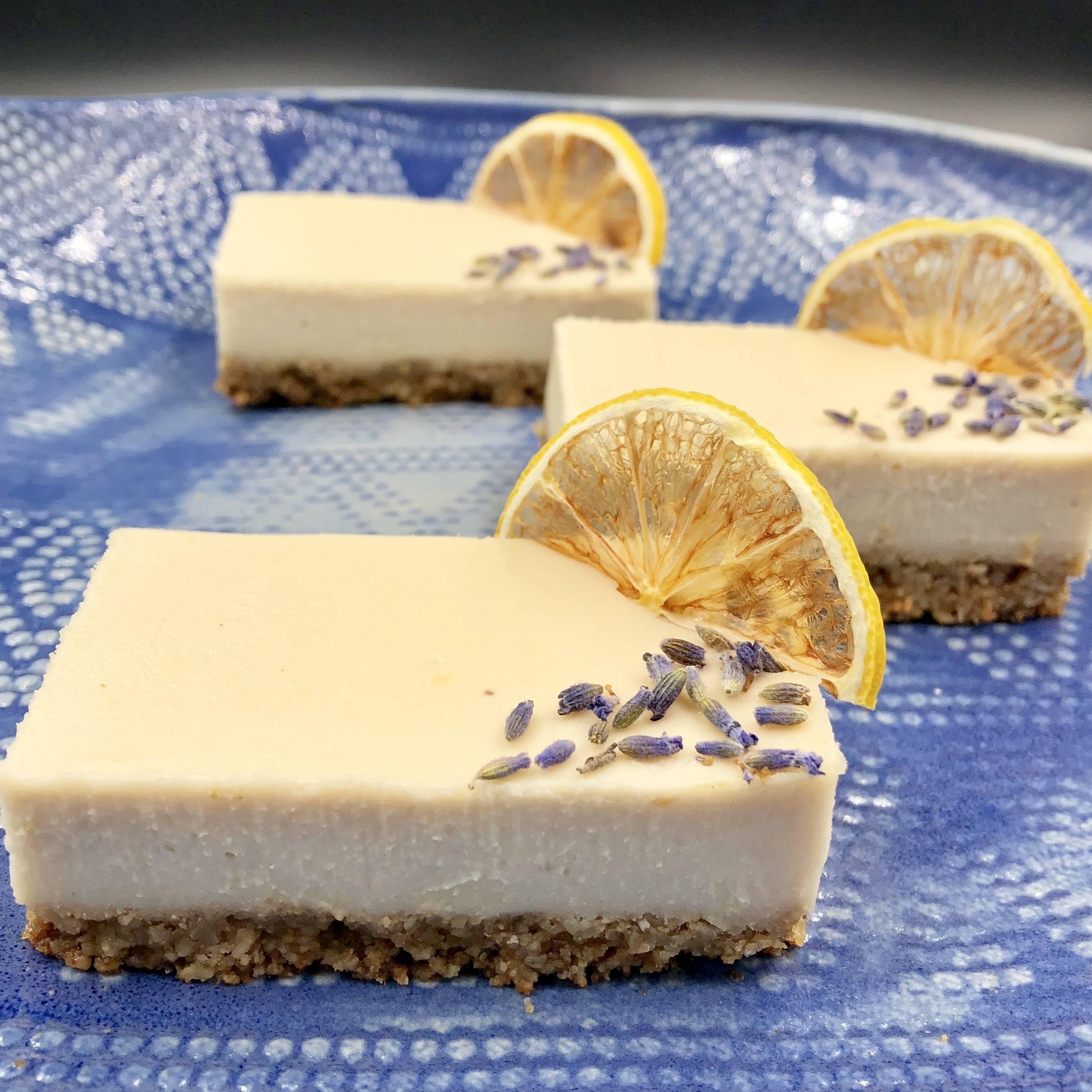 CBD Lemon Lavender Delicious Bars