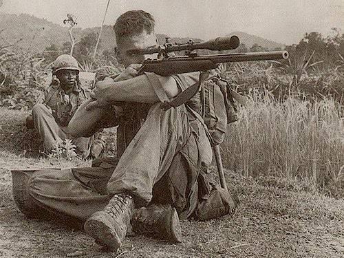 Carlos Hathcock 8X USMC