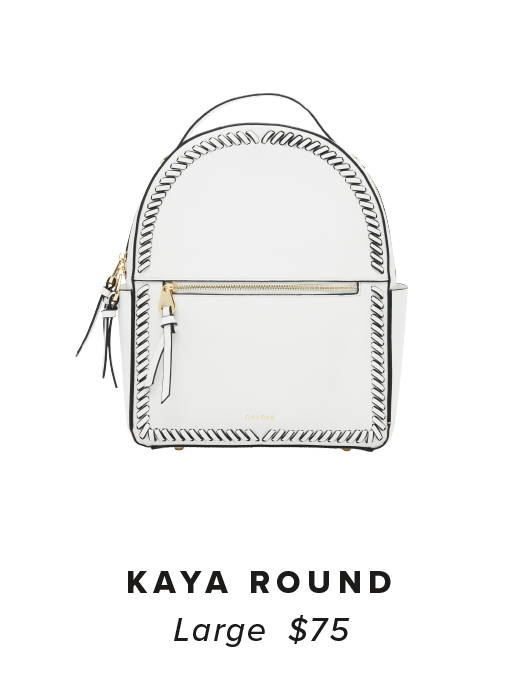 KAYA Backpack - White