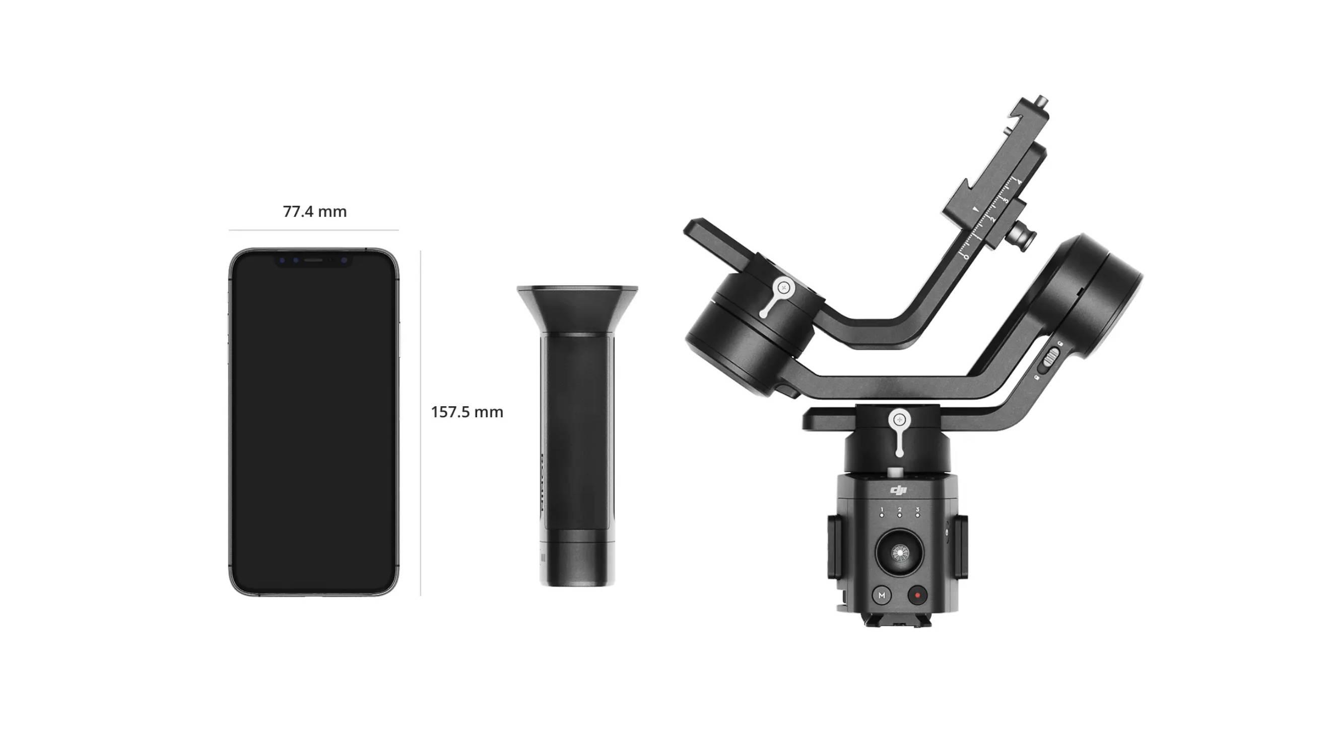 DJI Ronin-SC lightweight design