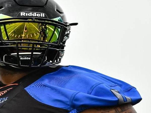 riddell football visor