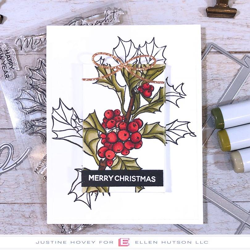 Essentials by Ellen Parcel Box Holiday Card