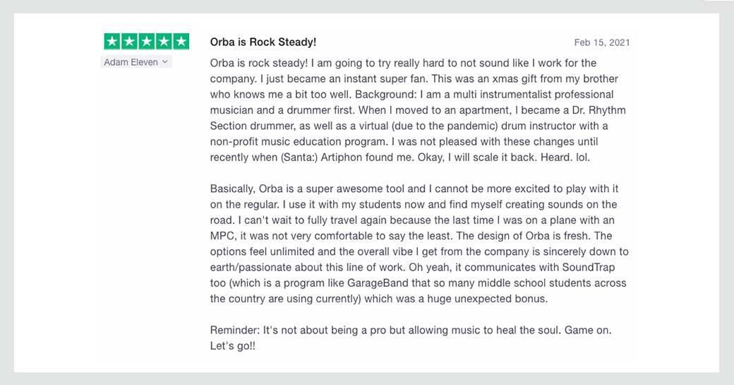 Orba Review 1