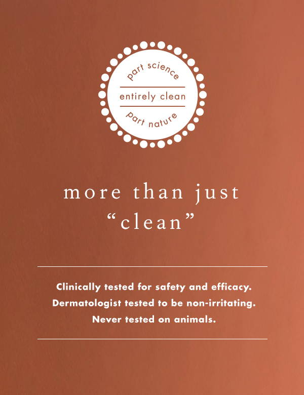 more than just clean, part science part nature entirely clean