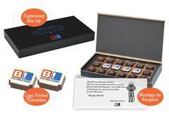 Corporate diwali gift (18 Chocolates - 100 Box)