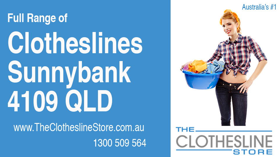New Clotheslines in Sunnybank Queensland 4109