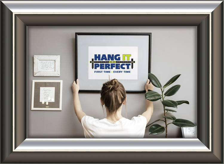 how to hang multiple frames on a wall