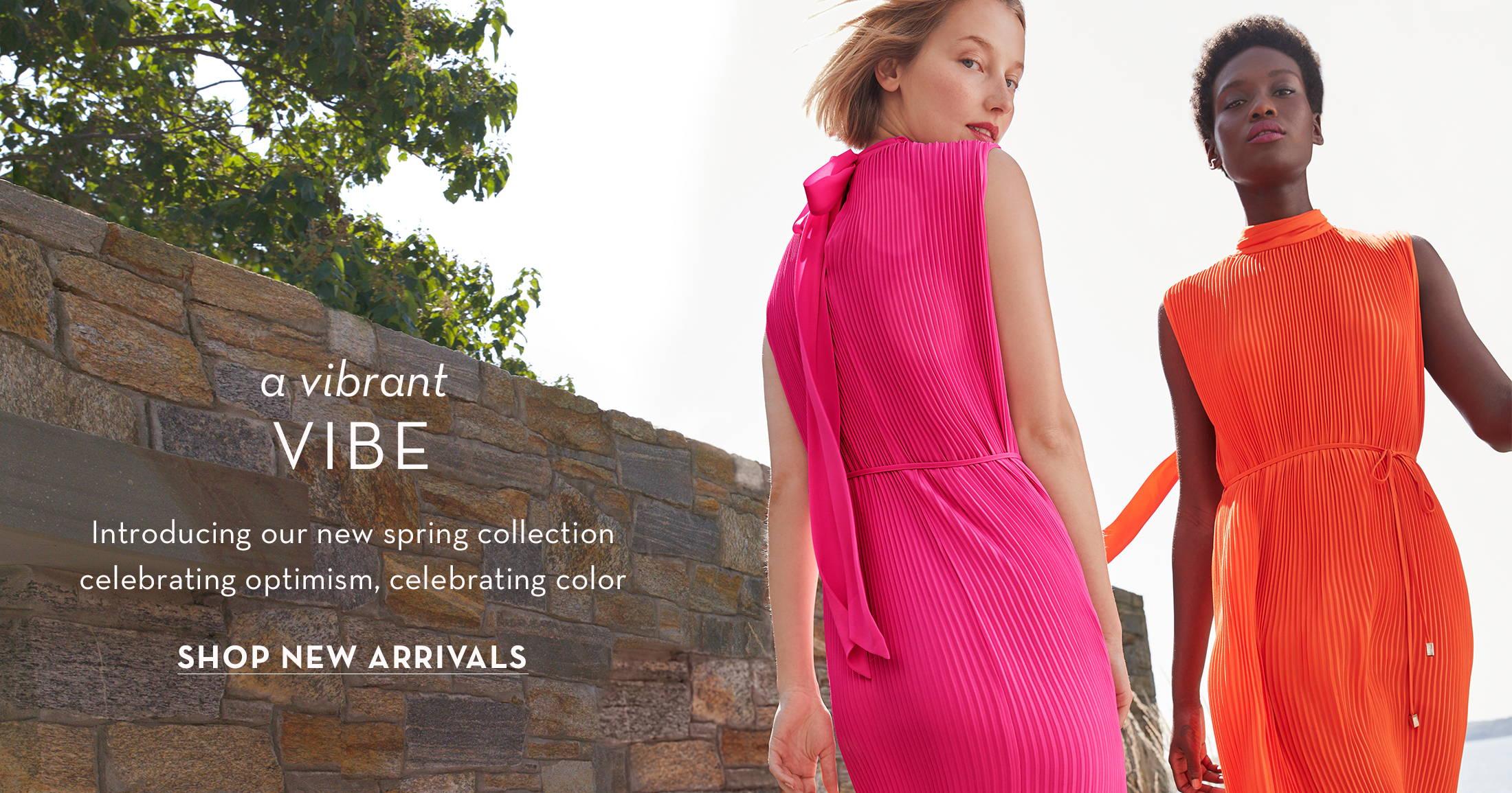 A vibrant vibe, shop new arrivals