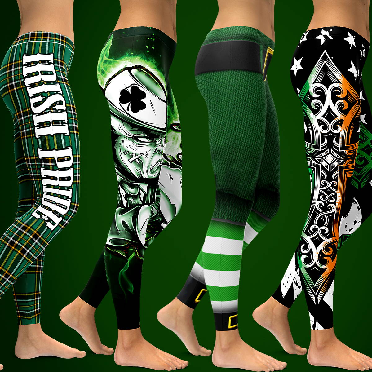 GearBunch Irish American Leggings