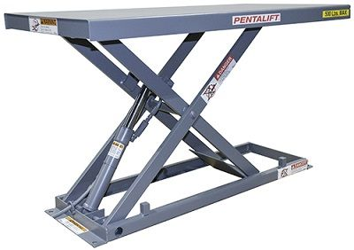 Pentalift series E lift table, table élévatrice Pentalift