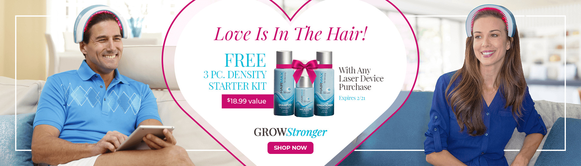 Love is in the Air - Grow Stronger Offer