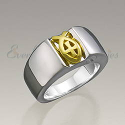 Womens Loyal Ring Jewelry Urn