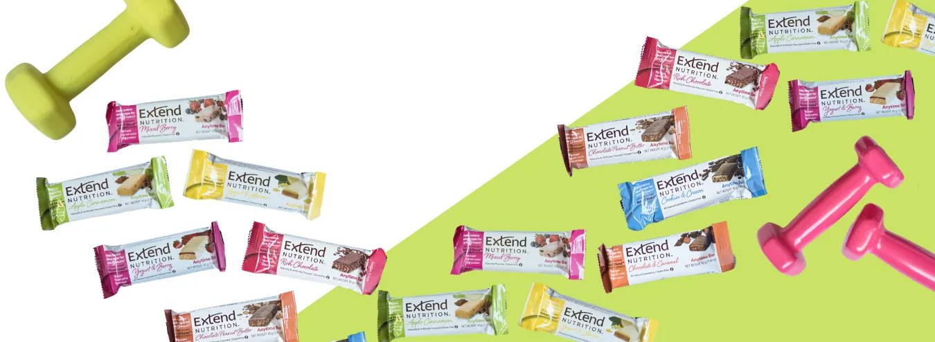 Clinically Proven Protein Bars designed to help control blood sugar.