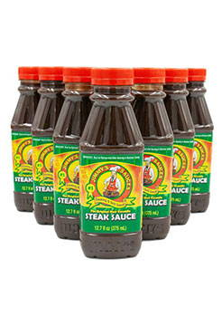 7-Pack of Jimmy's Steak Sauce