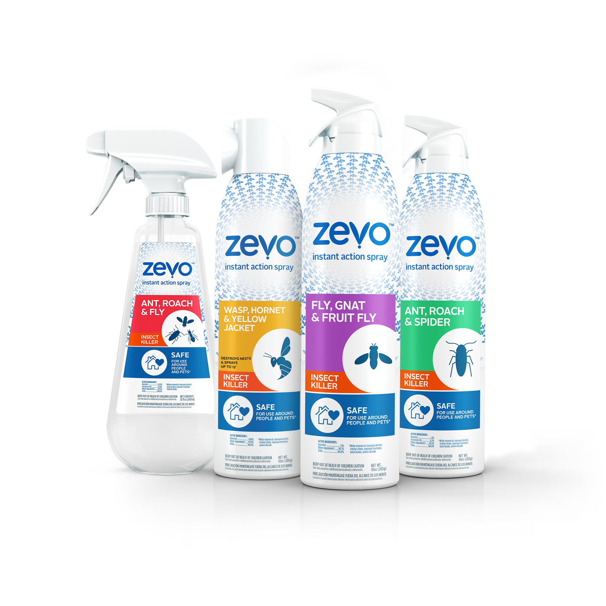 Zevo flying insect sprays