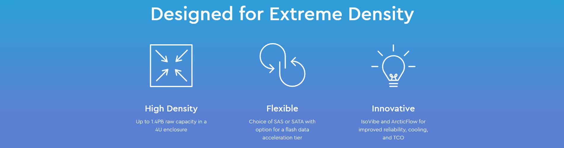 Designed for Extreme Density
