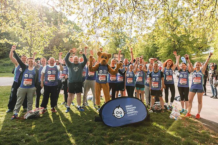 Gosh London Marathon Team