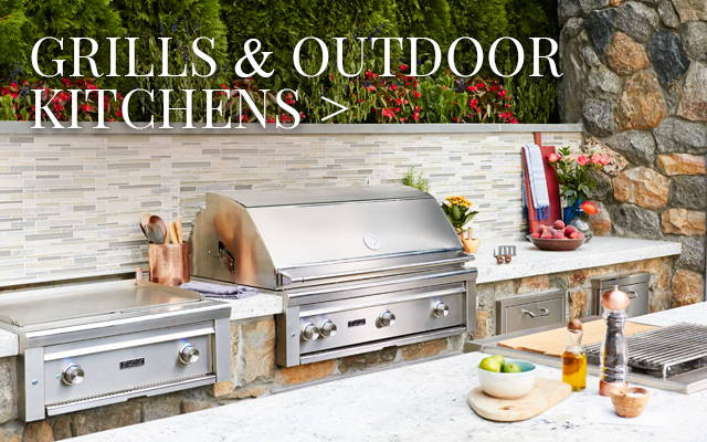 Grills & Outdoor Kitchens from Lynx, Alfresco, Weber & More