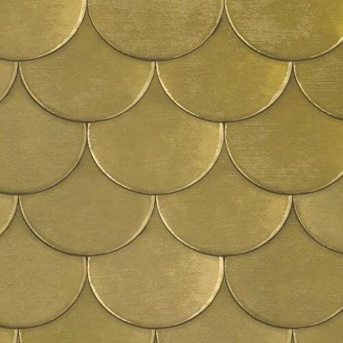 Brass Belly Removable Wallpaper