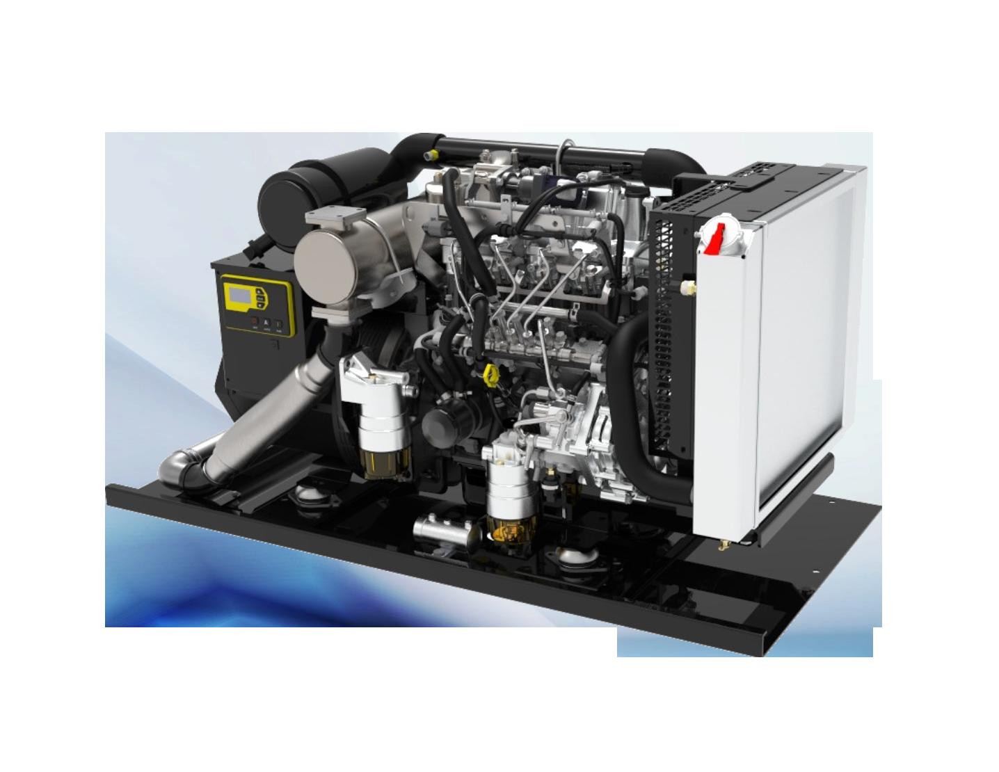 Bloodmobile Diesel Generator