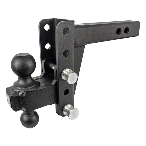 "BulletProof Heavy Duty 4"" Drop/Rise Hitch"