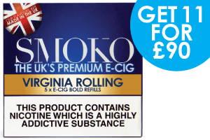 Recarga de cigarrillos electrónicos trata con E-Liquids Made in the UK