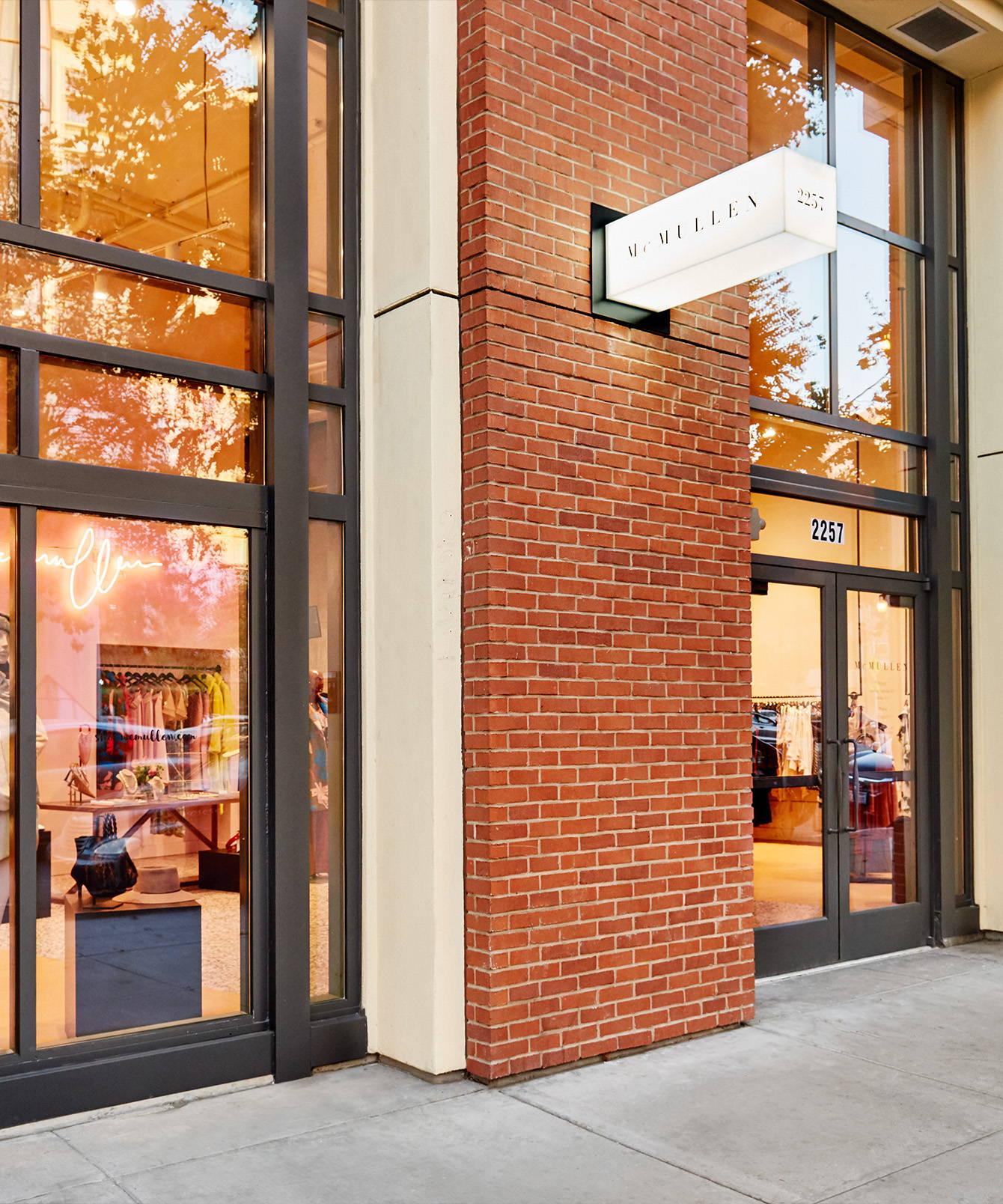 Oakland boutique storefront