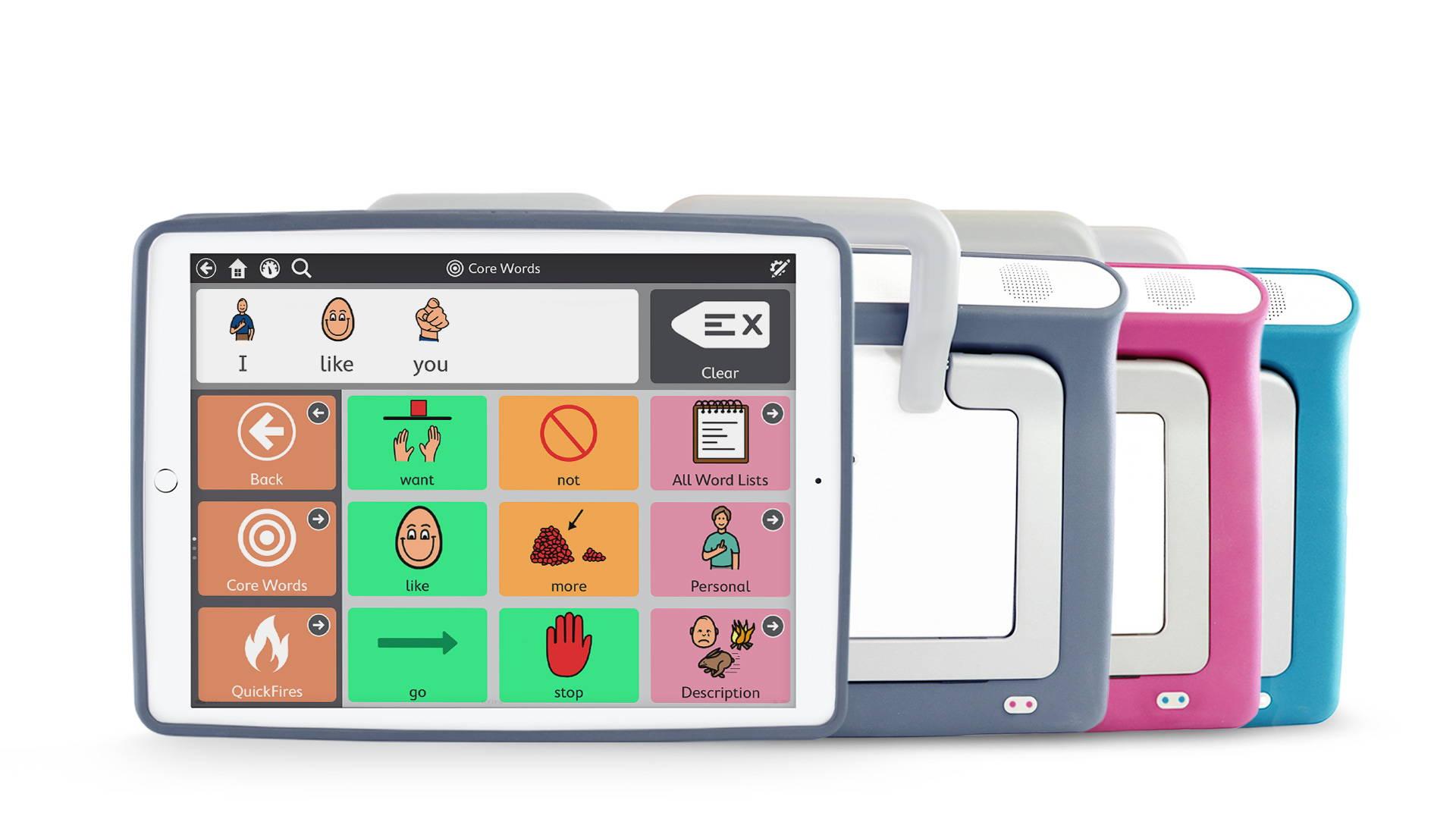 iPad Pro mit Speech Case Pro