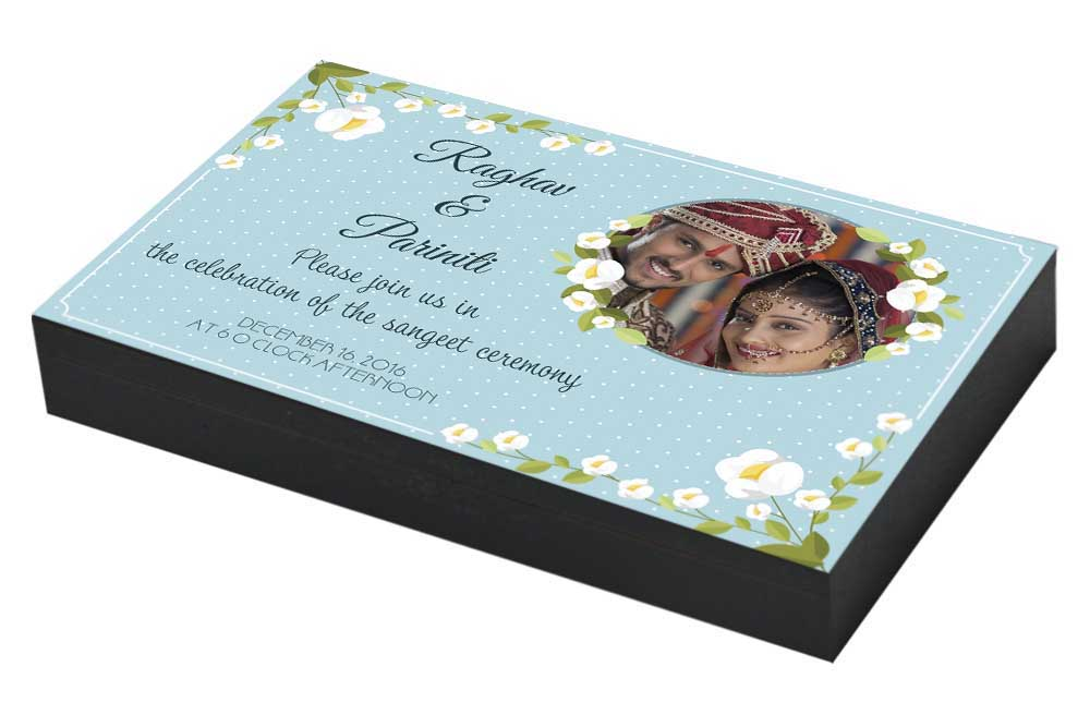 Personalised Sangeet ceremony Invitation