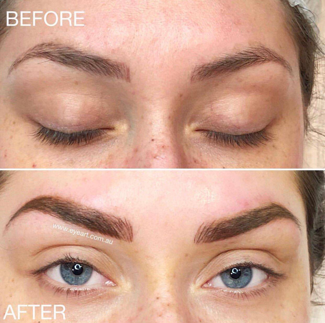 Where To Go For Eyebrow Tattoo Correction Melbourne Best Places