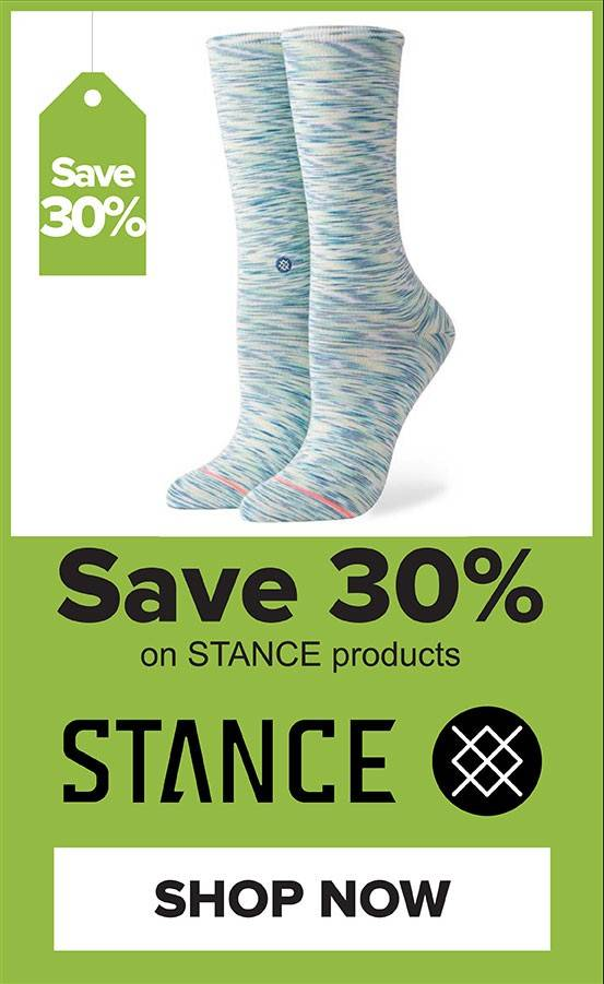 30% Off Stance