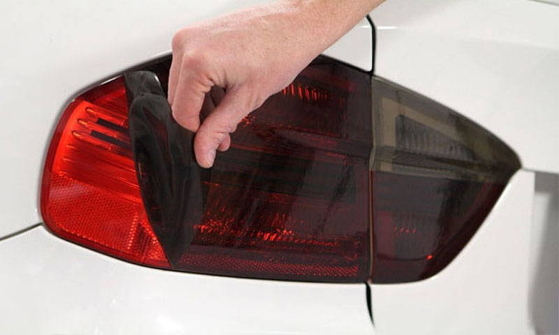Precut  with Smoked Lamin-x tail light film covers