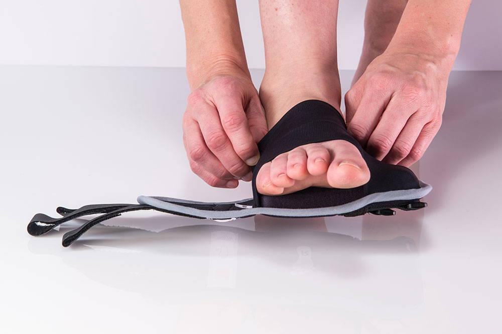 restiffic foot wrap slide on