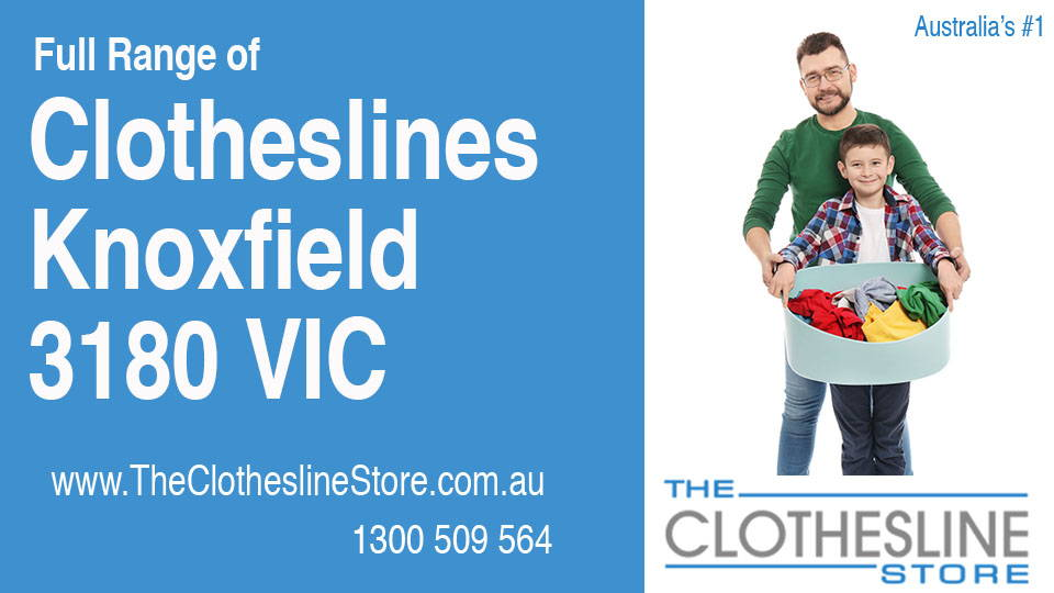 New Clotheslines in Knoxfield Victoria 3180