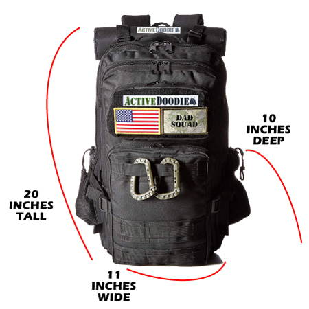 Active Doodie Tactical Diaper Bags for Dad