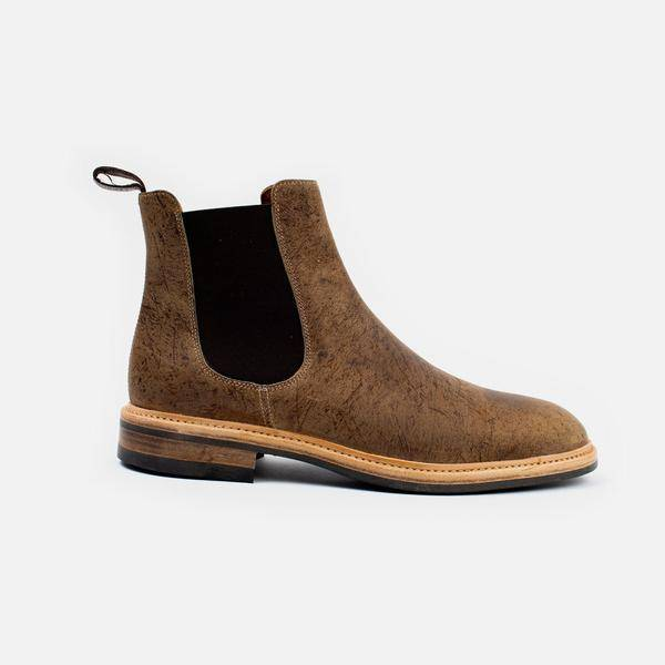 The Kingstowne Kudu Leather Boot