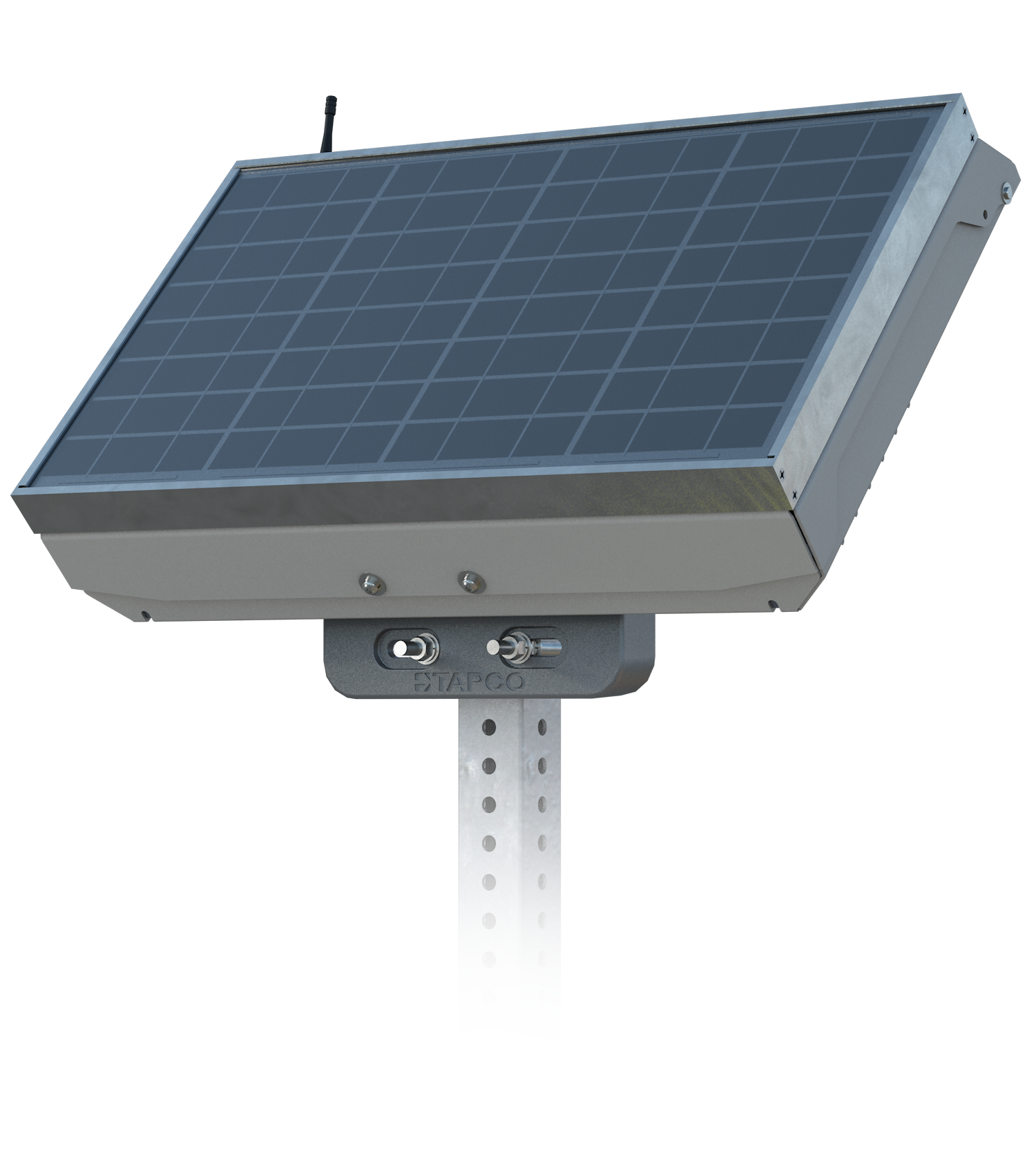 20W Self Contained Solar Power Option