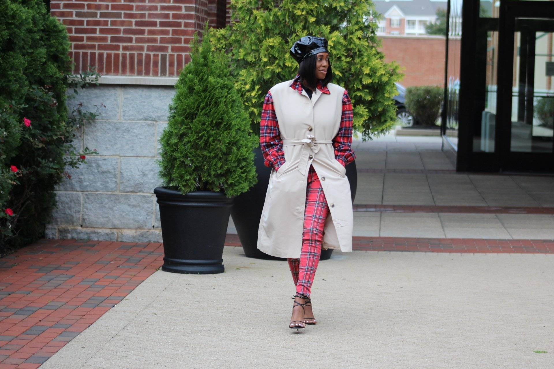 Flannel Drip Trench