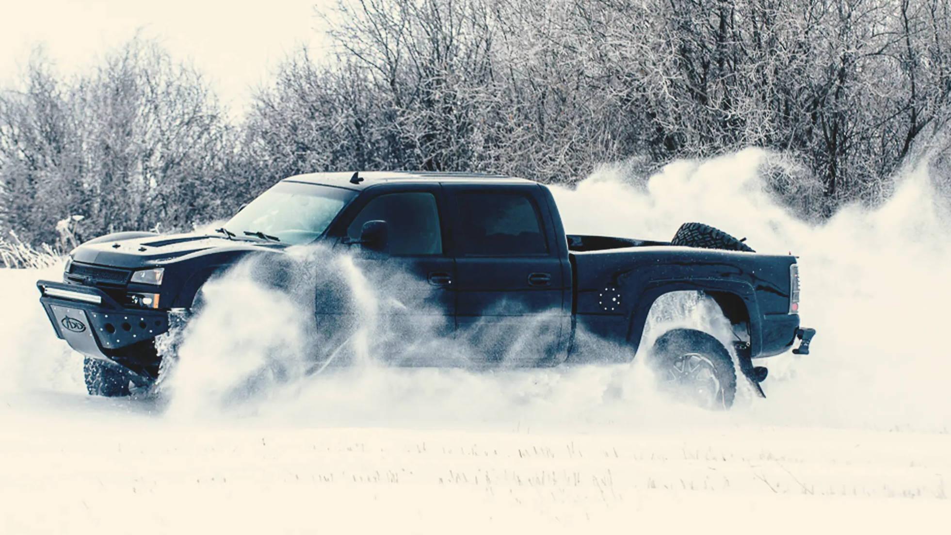 Chevy Silverado 2500 HD exhaust