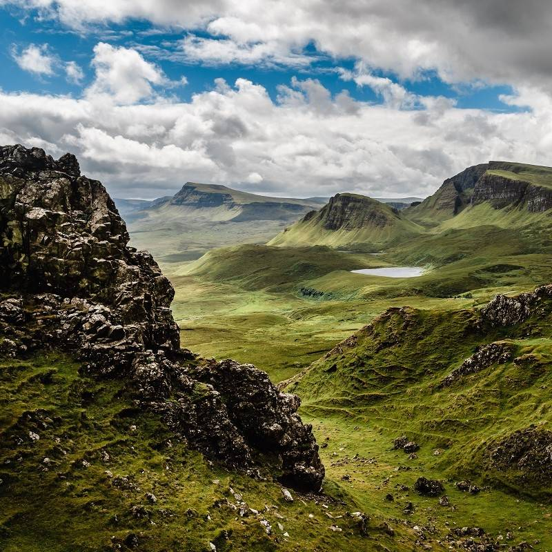 A beautiful landscape photo of the Scottish Highlands