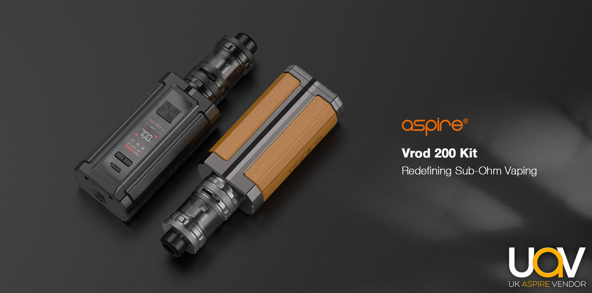 Aspire Vrod 200 | Vape Sub Ohm | Buy Aspire Vape Kits Online