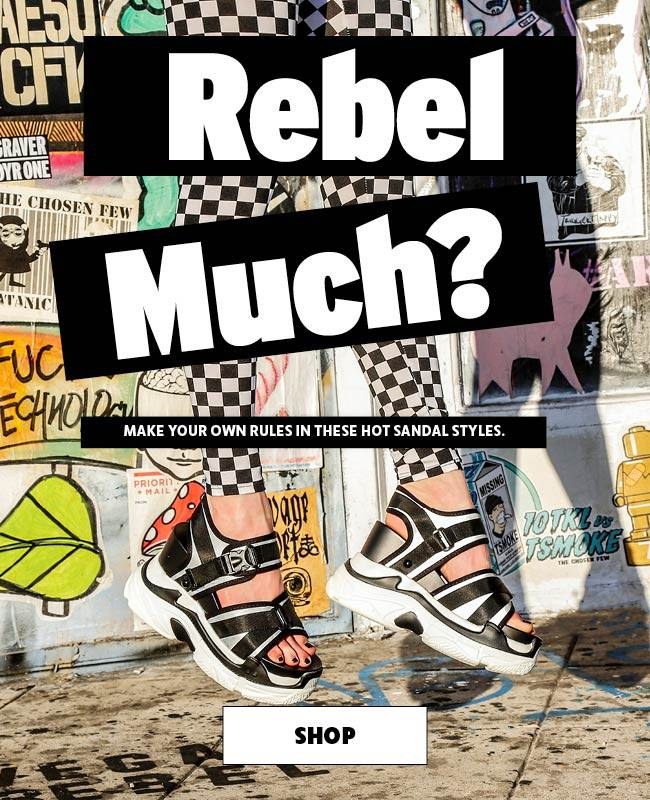 009fd25f894 Rebel much  Make your own Rules in these hot sandal styles