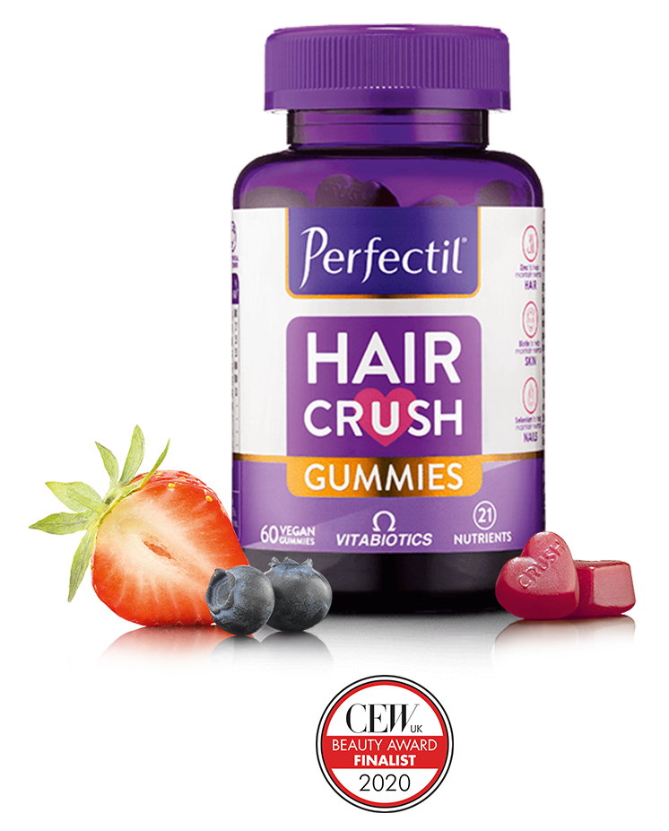 Perfectil Hair Crush Gummies Bottle