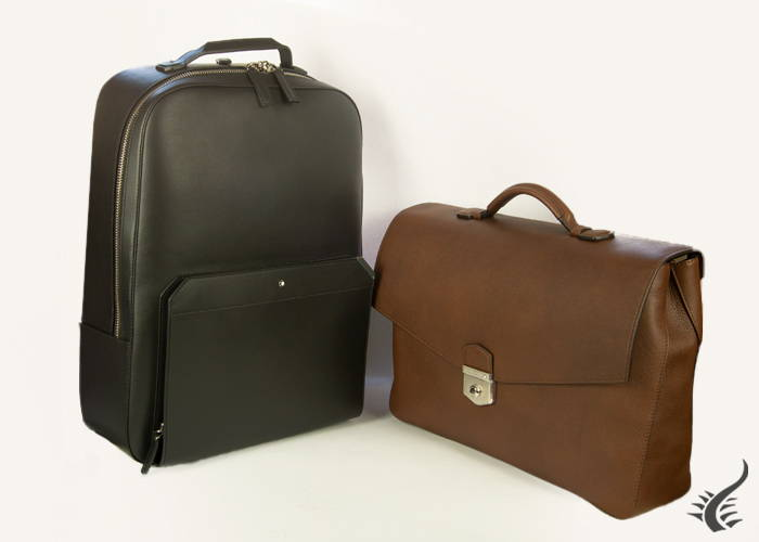 Montblanc bags and travel