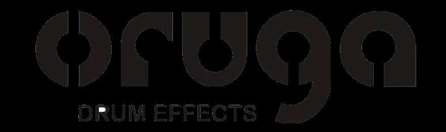 oruga drum effects logo rubix