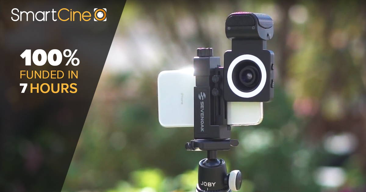 MOVO Photo SmartCine Funded on Kickstarter