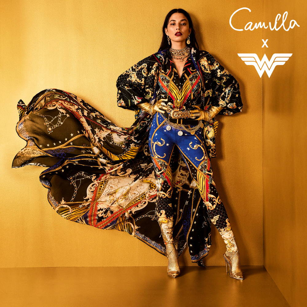 CAMILLA x Wonder Woman Capsule Collection