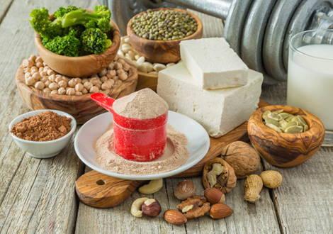 Aliments riches en nutriments pour les végétariens