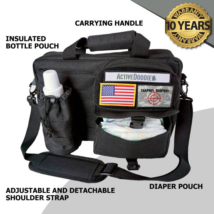 Tactical Diaper Bags by Active Doodie for Daddy Diaper Bags